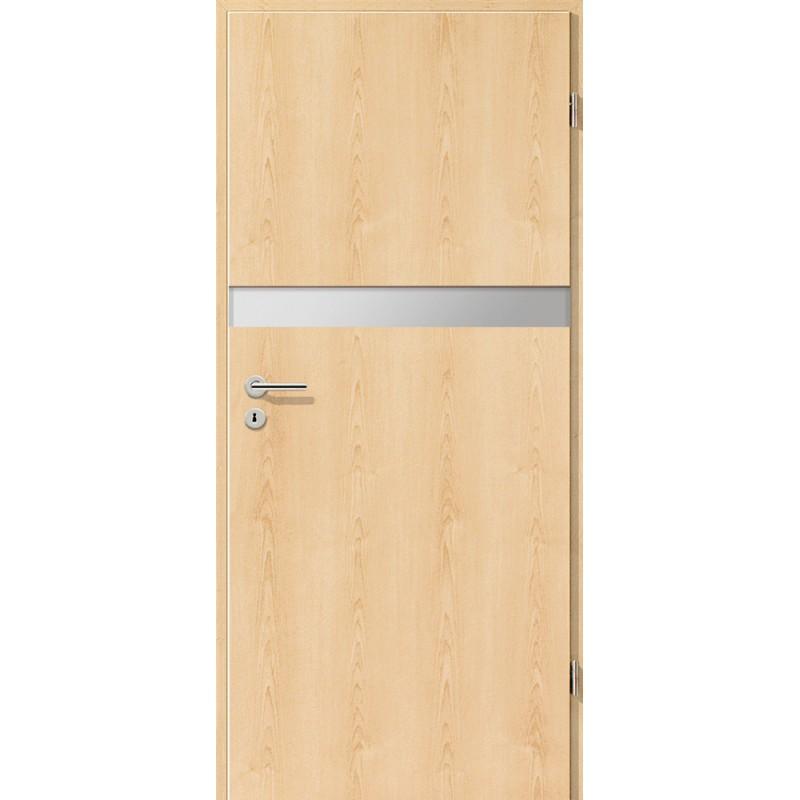Holztüren - Türblatt - Ahorn Natur mit Lichtband 2211