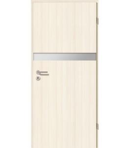 Holztüren - Türblatt - Coco Bolo Weiß mit Lichtband 2211