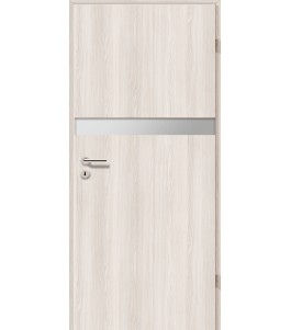 Holztüren - Türblatt - Lärche Weiß mit Lichtband 2211