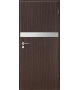 Holztüren - Türblatt - Wenge mit Lichtband 2211