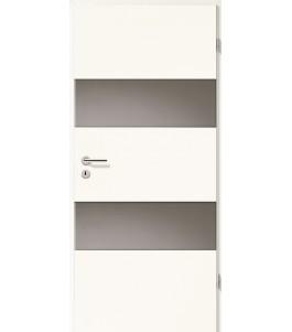 Holztüren - Türblatt - Arctic Weiß mit Lichtband 2212