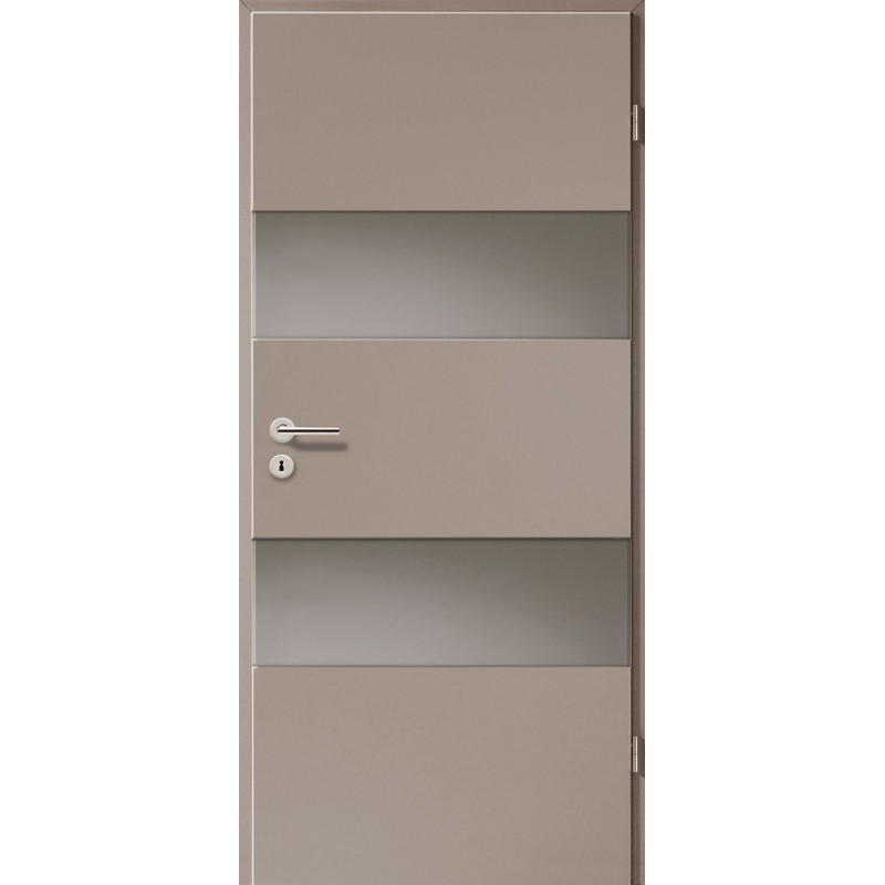 Holztüren - Türblatt - Macchiato mit Lichtband 2212