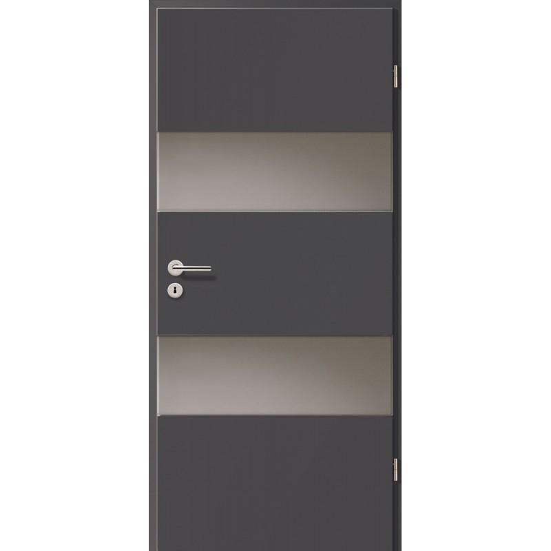 Holztüren - Türblatt - Achat mit Lichtband 2212