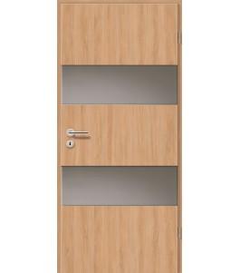 Holztüren - Türblatt - Birnbaum Modern mit Lichtband 2212