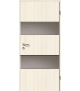 Holztüren - Türblatt - Coco Bolo Weiß mit Lichtband 2212