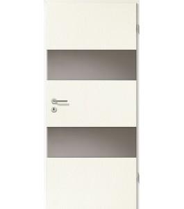 Holztüren - Türblatt - Esche Weiß mit Lichtband 2212