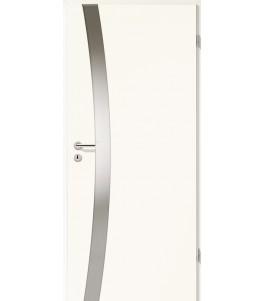 Holztüren - Türblatt - Arctic Weiß mit Lichtband 2302