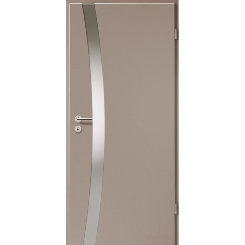Holztüren - Türblatt - Macchiato mit Lichtband 2302