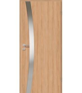 Holztüren - Türblatt - Birnbaum Modern mit Lichtband 2302