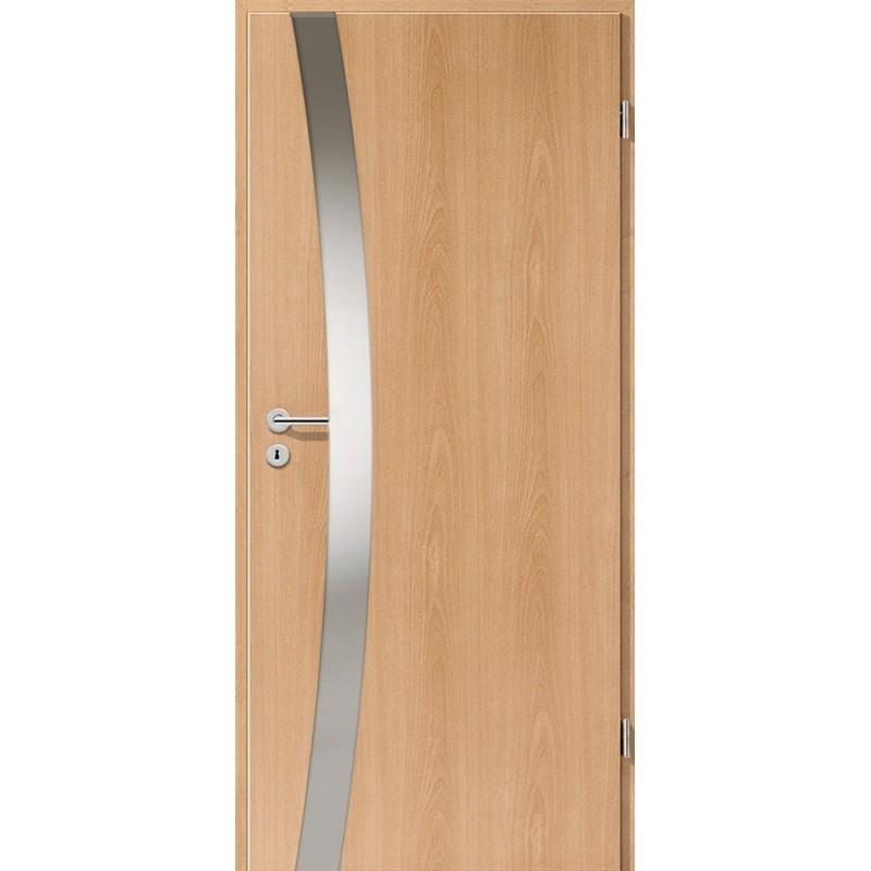 Holztüren - Türblatt - Buche mit Lichtband 2302