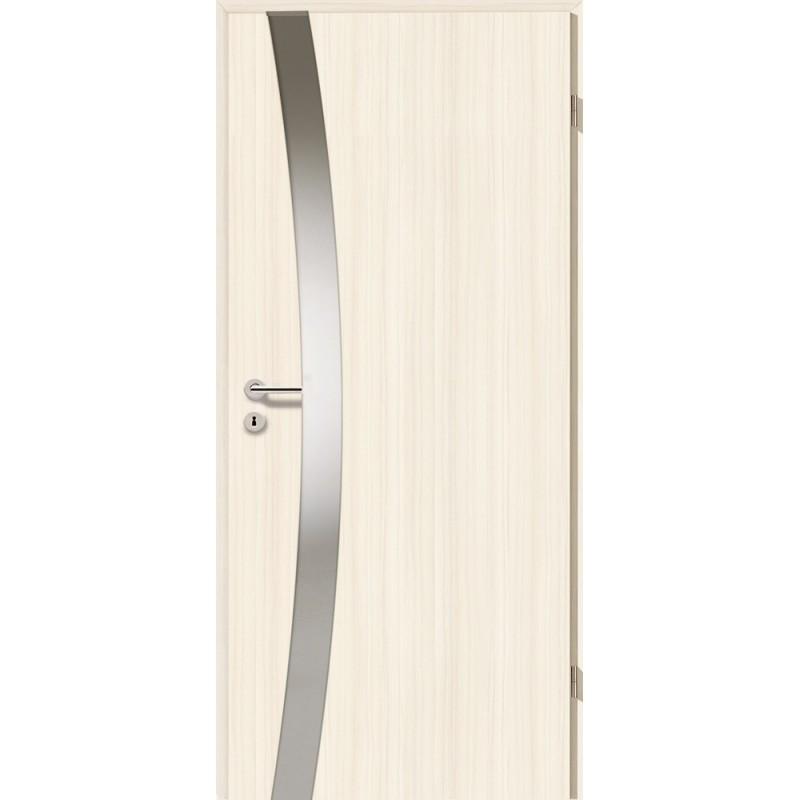Holztüren - Türblatt - Coco Bolo Weiß mit Lichtband 2302