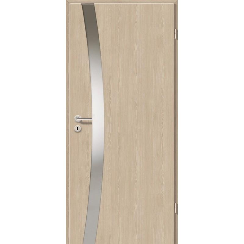 Holztüren - Türblatt - Platineiche mit Lichtband 2302