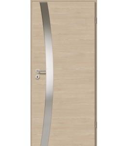Holztüren - Türblatt - Platineiche Cross mit Lichtband 2302