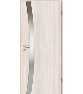 Holztüren - Türblatt - Lärche Weiß mit Lichtband 2302