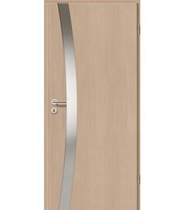 Holztüren - Türblatt - Pinie Hell mit Lichtband 2302