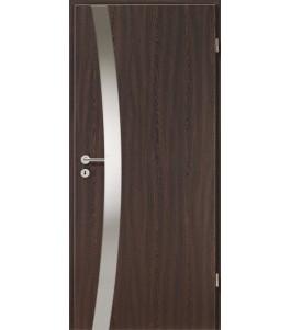 Holztüren - Türblatt - Wenge mit Lichtband 2302