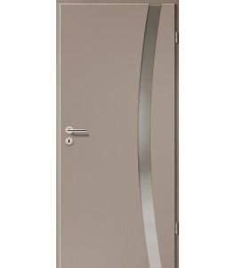 Holztüren - Türblatt - Macchiato mit Lichtband 2303