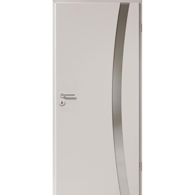 Holztüren - Türblatt - Ferrum mit Lichtband 2303