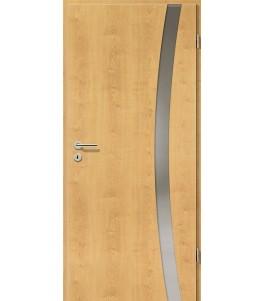 Holztüren - Türblatt - Ahorn Rustikal mit Lichtband 2303