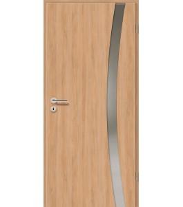 Holztüren - Türblatt - Birnbaum Modern mit Lichtband 2303