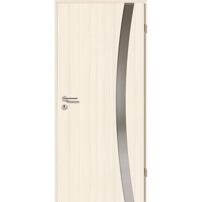 Holztüren - Türblatt - Coco Bolo Weiß mit Lichtband 2303