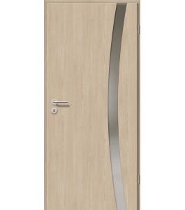 Holztüren - Türblatt - Platineiche mit Lichtband 2303