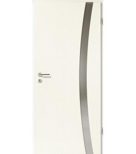 Holztüren - Türblatt - Esche Weiß mit Lichtband 2303