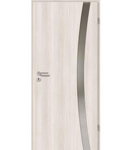 Türblatt - Lärche Weiß mit Lichtband 2303