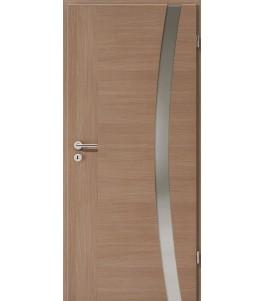 Holztüren - Türblatt - Nussbaum Cross mit Lichtband 2303