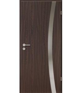 Holztüren - Türblatt - Wenge mit Lichtband 2303