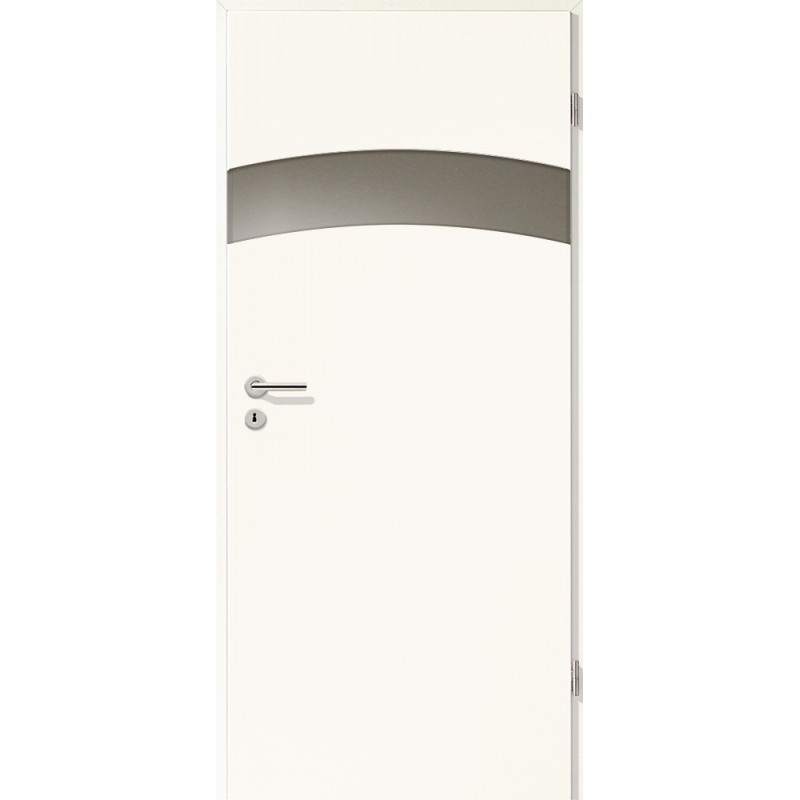 Holztüren - Türblatt - Arctic Weiß mit Lichtband 2304-1LB