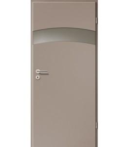 Türblatt - Macchiato mit Lichtband 2304-1LB