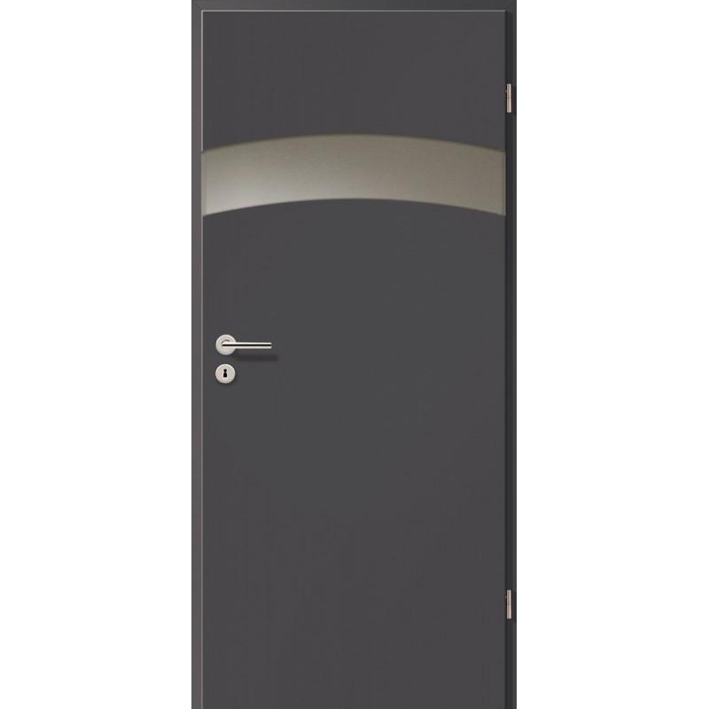 Holztüren - Türblatt - Achat mit Lichtband 2304-1LB