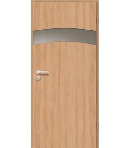 Türblatt - Birnbaum Modern mit Lichtband 2304-1LB