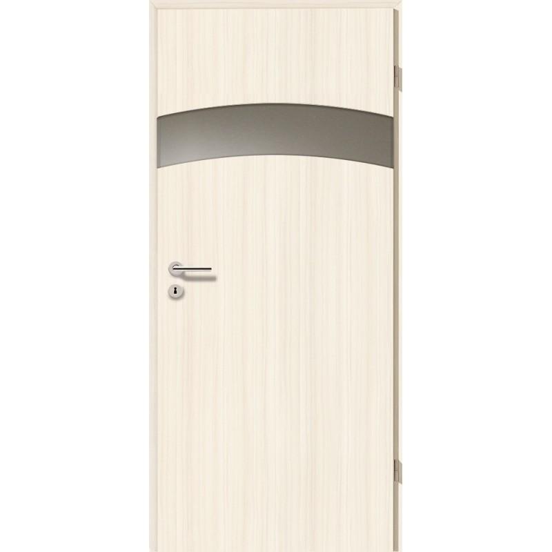 Holztüren - Türblatt - Coco Bolo Weiß mit Lichtband 2304-1LB
