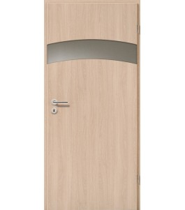 Holztüren - Türblatt - Eiche Sicilia mit Lichtband 2304-1LB