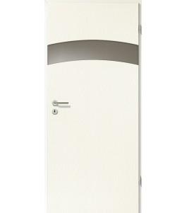 Türblatt - Esche Weiß mit Lichtband 2304-1LB