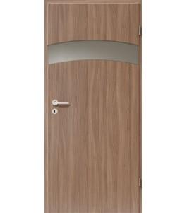 Holztüren - Türblatt - Nussbaum mit Lichtband 2304-1LB