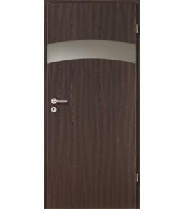 Holztüren - Türblatt - Wenge mit Lichtband 2304-1LB