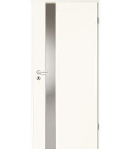 Holztüren - Türblatt - Arctic Weiß mit Lichtband 2202