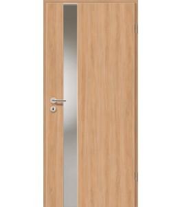 Holztüren - Türblatt - Birnbaum Modern mit Lichtband 2202