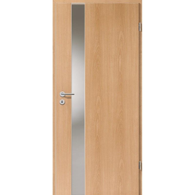 Holztüren - Türblatt - Buche mit Lichtband 2202