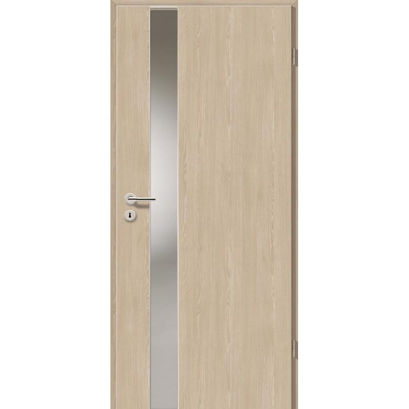 Holztüren - Türblatt - Platineiche mit Lichtband 2202