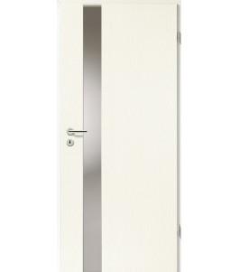 Türblatt - Esche Weiß mit Lichtband 2202
