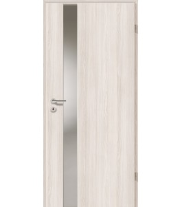 Holztüren - Türblatt - Lärche Weiß mit Lichtband 2202