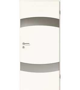 Holztüren - Türblatt - Arctic Weiß mit Lichtband 2304-2LB