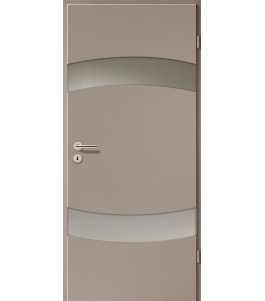 Türblatt - Macchiato mit Lichtband 2304-2LB