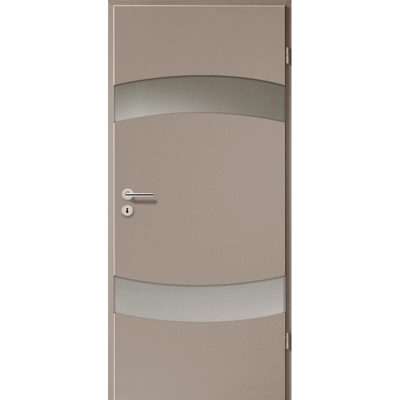 Holztüren - Türblatt - Macchiato mit Lichtband 2304-2LB