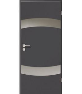 Holztüren - Türblatt - Achat mit Lichtband 2304-2LB