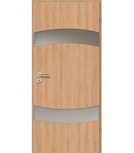 Holztüren - Türblatt - Birnbaum Modern mit Lichtband 2304-2LB